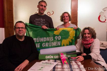 Bündnis 90/Die Grünen der VG Wonnegau trafen sich zum öffentlichen Stammtisch.