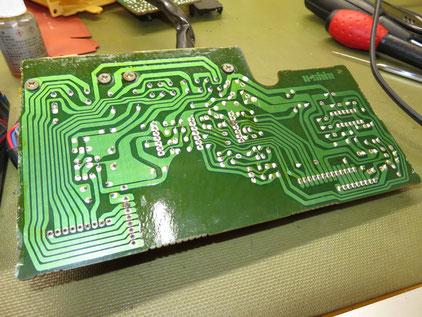 サバンナRX-7 FC3C エアコンコントロールパネル修理