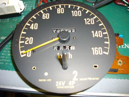 エルフ NKR66 スピードメーター動かない 修理