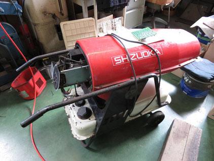 静岡製機 ホットガン 燃焼不良 基板修理 ジェットヒーター