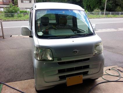 ダイハツ ハイゼット S331V エアコン風量少ない