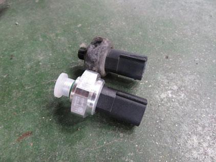 ベンツ Eクラス W212 ACランプ点滅 エアコン修理