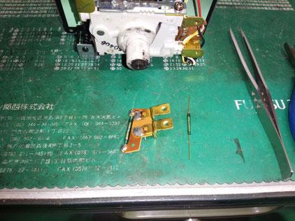 ランドクルーザー HZJ77 70系 スピードメーター修理