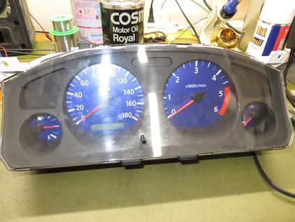 ダットサントラック D22 スピードメーター不良 修理