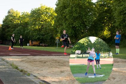 Training beginnt_Leichtathletik