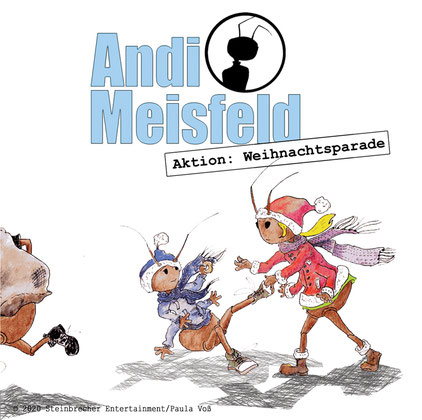 CD-Cover Andi Meisfeld Aktion: Weihnachtsparade
