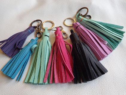 DIY du pompon ou bijoux de sac