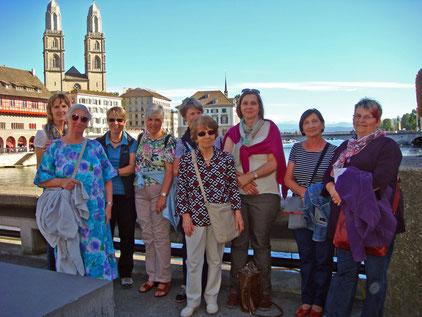 Katholischer Frauenbund Schaffhausen auf der Gemüsebrücke