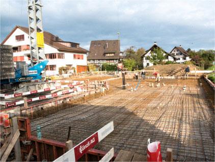 Cevi-Huus Vivo: Die Bauphase beginnt. Bild: Cevi Gossau ZH