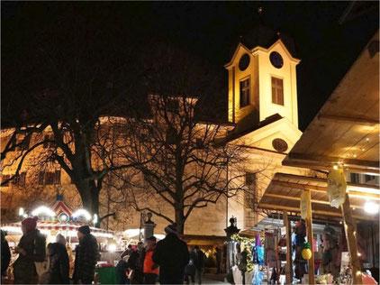 2020 kein Weihnachtsmarkt in Grüningen. Bild: wiehnachtsmärt-grüenige.ch