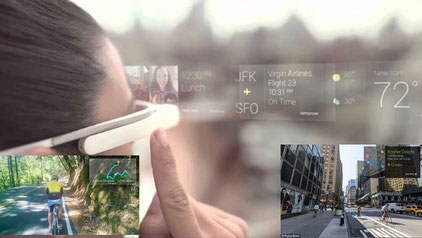 Google Glass Funktionen