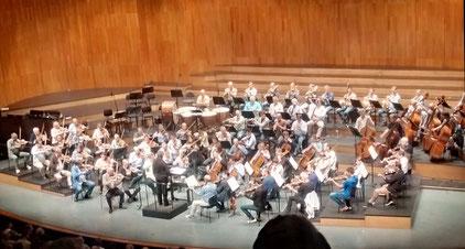 Wiener Philharmoniker bei der Probe
