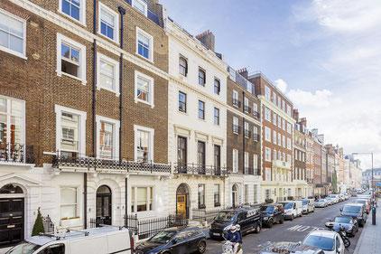 El carrer Wimpole a l'actualitat