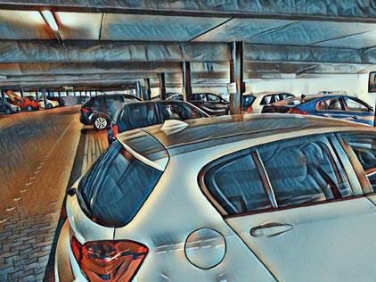 parkhaus flughafen genf