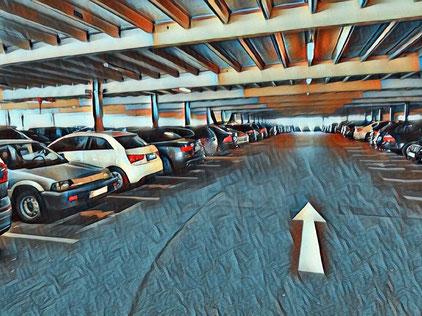 flughafen parking genf