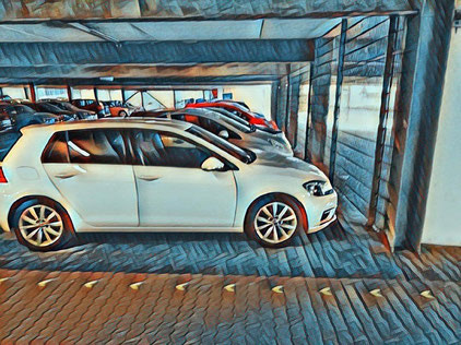 flughafen parkhaus genf