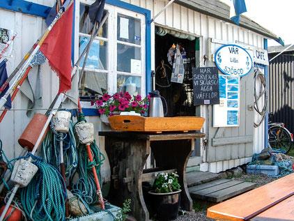 Kleines Waffelcafé in Skåne