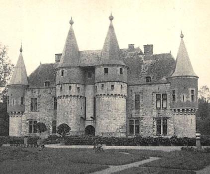 Château de Spontin vers 1914