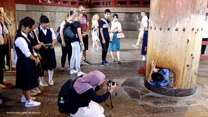 En quête d'Illumination, Daibutsu-Den, Nara, photo non libre de droits
