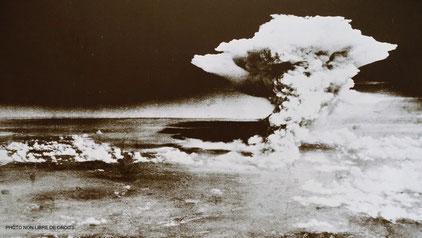 Photo non libre de droits d'une photo du Musée du Mémorial de la Paix, Hiroshima.