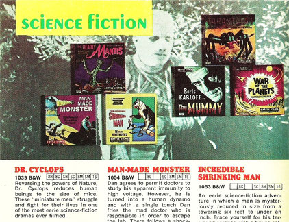 The Incredible Man-Made Shrinking Monster film page!