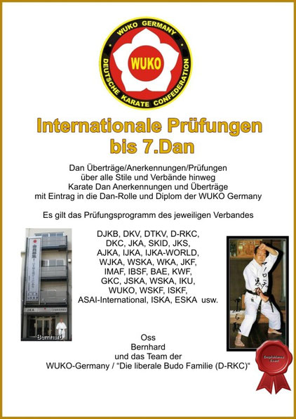 INTERNATIONALE Legitimation beantragen