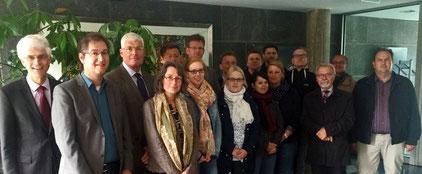 Das deutsch-schwedische Verhältnis war beim Besuch der Leeraner Gruppe in der Deutschen Botschaft in Stockholm ebenso Thema wie die Bildungspolitik. Foto: Wigers