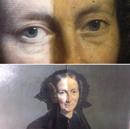 Atelier Mathilde Billard - Conservatrice d'oeuvres peintes