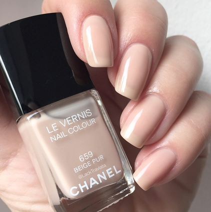 swatch CHANEL BEIGE PUR 659 Collection les Beiges