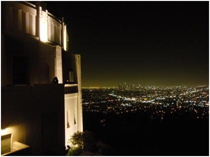 Ausblick vom Griffith Observatorium