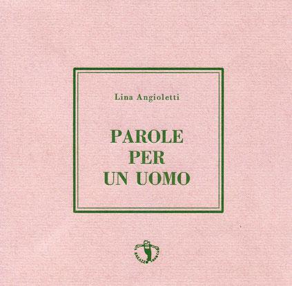 copertina con stampa tipografica in verde