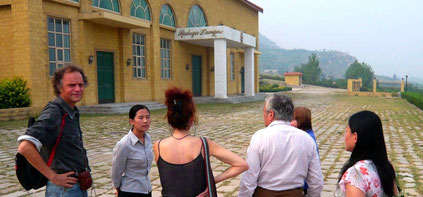 Empfang auf der Bodega Langes in China (Foto: Marcello Weiss)