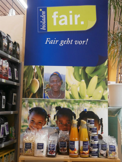bioladen*fair. Eine Aktion unseres Großhändlers.