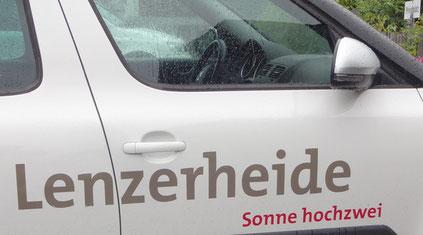 In Lenz war nach 16 Uhr wieder Regen angesagt.