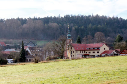 Blick auf Moosbronn (G. Franke)