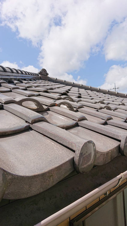 千葉 鎌ケ谷市 台風後の屋根修理