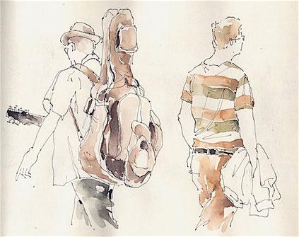 Grundlage des Zeichnens, Menschenzeichnen Kunstschule Düsseldorf