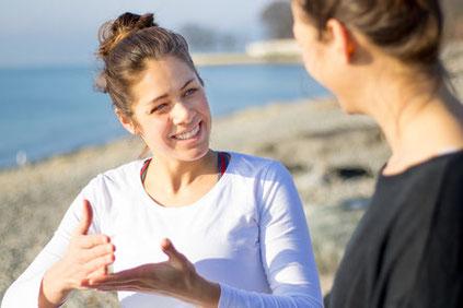kostenloses und unverbindliches Erstgespräch um sich kennenzulernen, Ziele festzulegen und Location zu besprechen im Bodenseekreis oder online