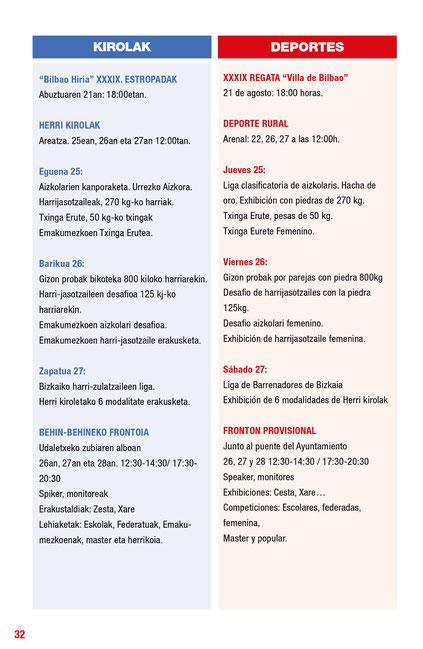 Bilbao Aste Nagusia 2016
