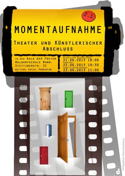 Momentaufnahme, Theater und Künstlerischer Abschluss, Klasse 12, FWS Bonn