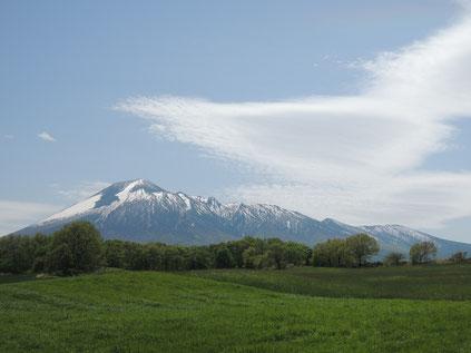 初めてまともに北側から岩手山を望みましたが素晴らしい!