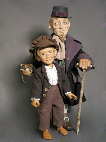 Oliver Twist and Fagin