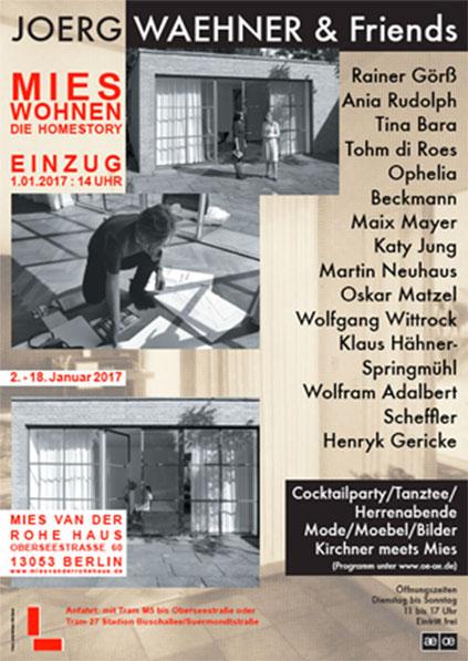 Mies wohnen Berlin Ausstellung Joerg Waehner