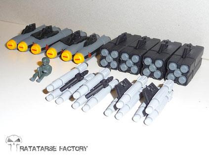 1/60 VF-1J Stealth Type Custom - Ratatarse Factory