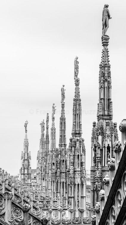 Le guglie del Duomo di Milano
