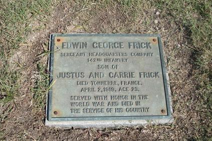Tombe d'Edwin - Edwin's grave - FindaGrave.com