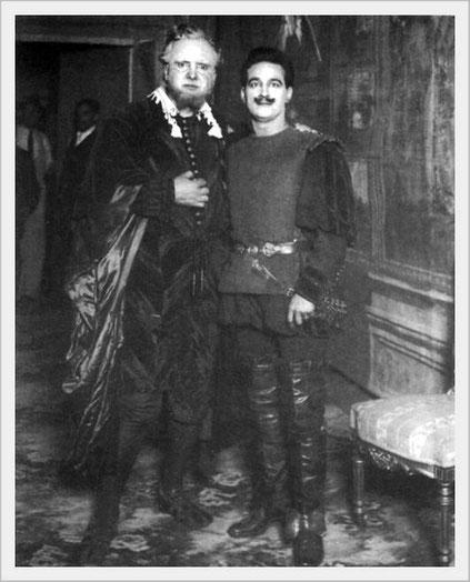 Rigoletto - con Hipolito Lazaro (Duca di Mantova) - Messico 1917