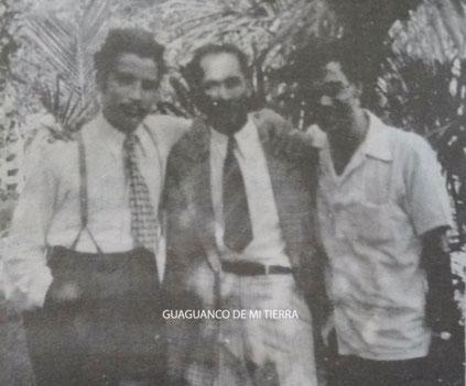 Daniel y admiradores dominicanos - Santiago de los Caballeros - 1946.