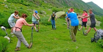 rando bien-être santé randonnée marche nordique ariege pyrenees babeth