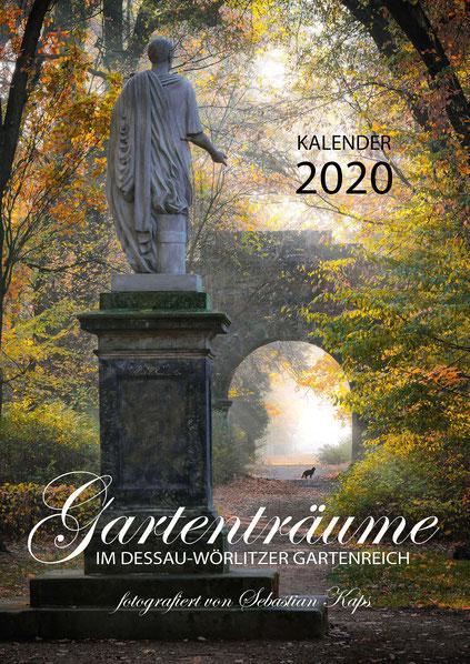Kalender Gartenträume, Gartenreichkalender 2020, Sebastian Kaps